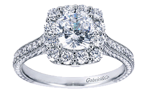 ring 7500 by gabriel co - Perfect Wedding Ring