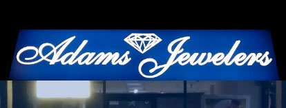 Buy Diamonds, Jewelry, Watches, Clocks At Our Galax Store - Look For This Sign!